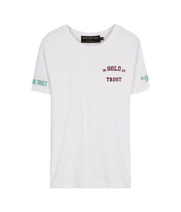 In Gold We Trust IGWT Logo T-Shirt White