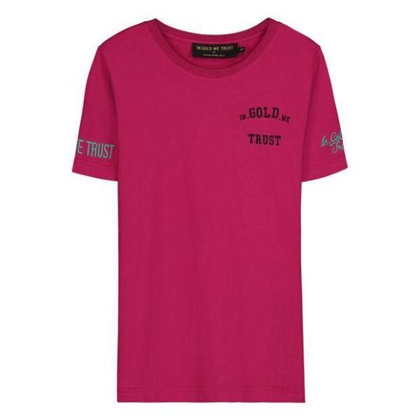 IGWT Women Logo T-Shirt Fuchsia