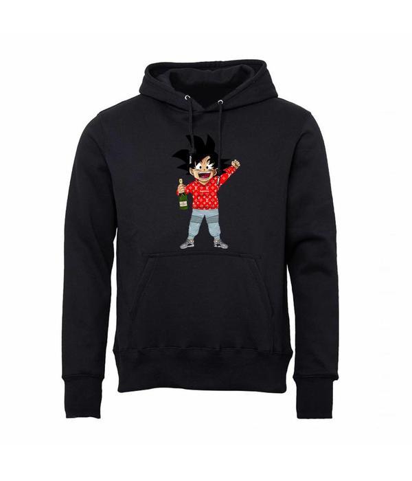 FM Fashion Goku Supreme Moét Hoodie Black