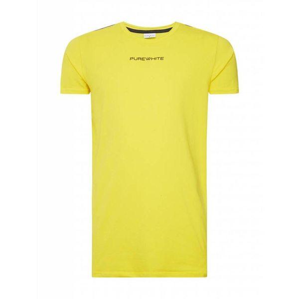 Purewhite T-Shirt SS18 Yellow