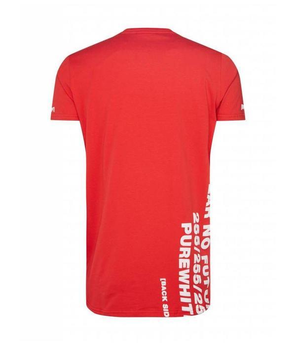 Purewhite Purewhite T-Shirt SS18 Red