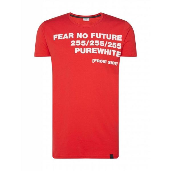 Purewhite T-Shirt SS18 Red