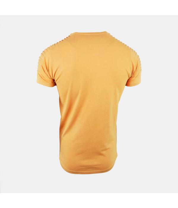AB-Lifestyle AB - The Ribb Yelllow T-shirt