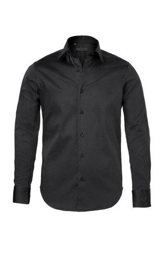 Zumo Zumo Doron Shirts LS Cotton Black