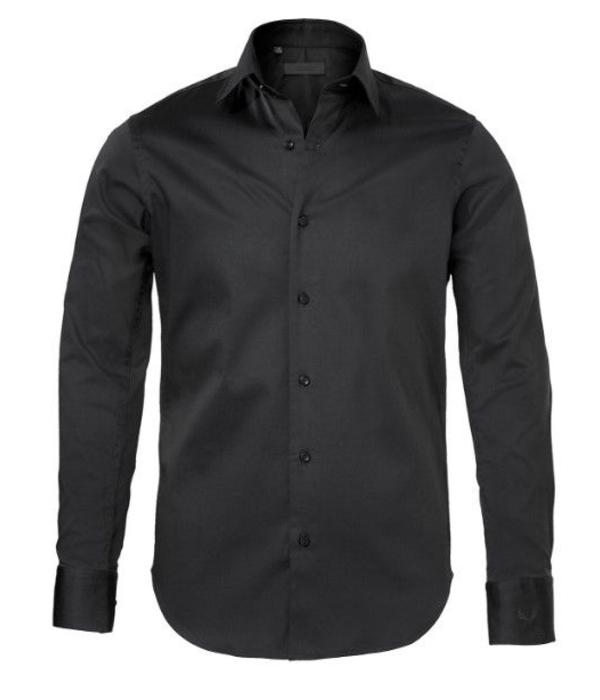 Zumo Zumo Doron Shirts LS Cotton Black