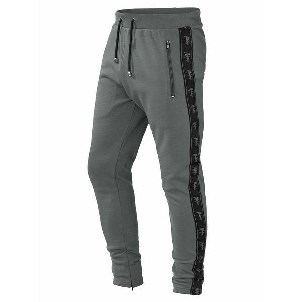 Milestone Miami Track Pants Grey/Black