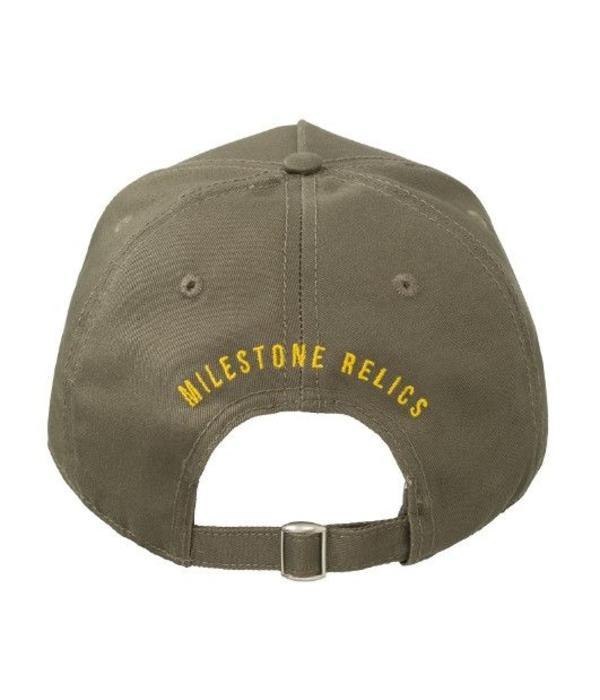 Milestone Relics Milestone Patched Baseball Cap Khaki