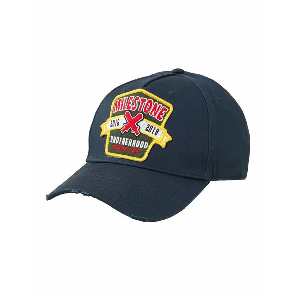Milestone Patched Baseball Cap Blue
