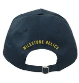 Milestone Relics Milestone Patched Baseball Cap Blue