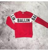 Purewhite Purewhite Ballin Trui Red