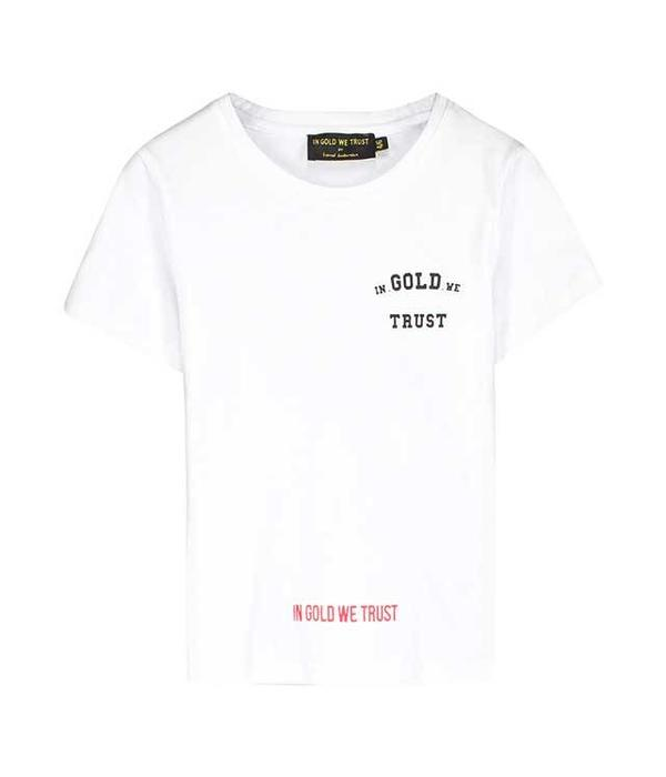In Gold We Trust IGWT KIDS White T-shirt