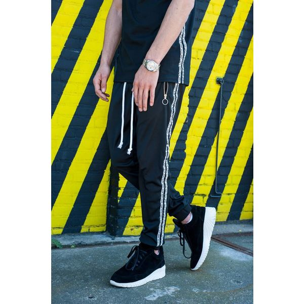 Black Bananas Double Tap Trackpants Black