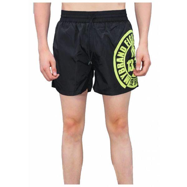 My Brand Fighters Logo Swimshort Black
