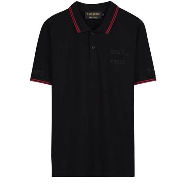 IGWT Logo Polo Black FAPO-004