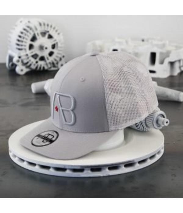 AB-Lifestyle AB Retro Trucker Cap Silver