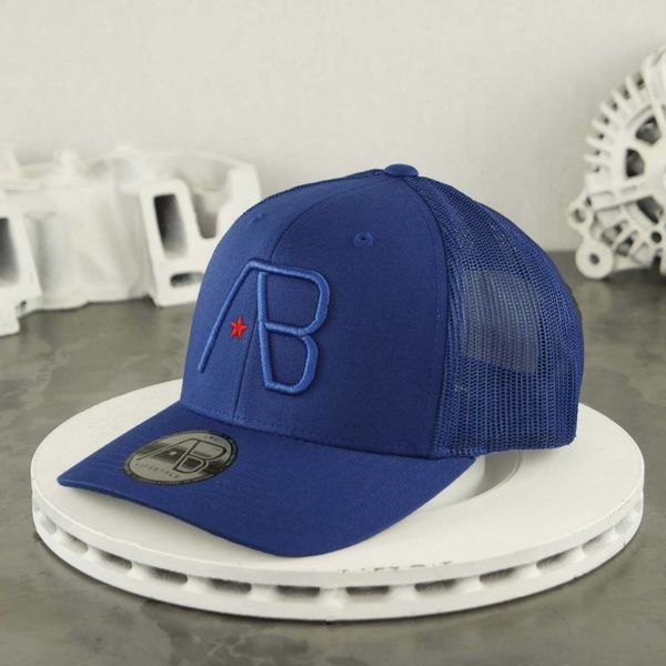 AB Retro Trucker Cap Royal Blue