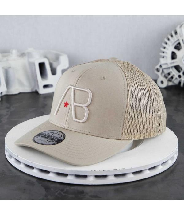 AB-Lifestyle AB Retro Trucker Cap Khaki