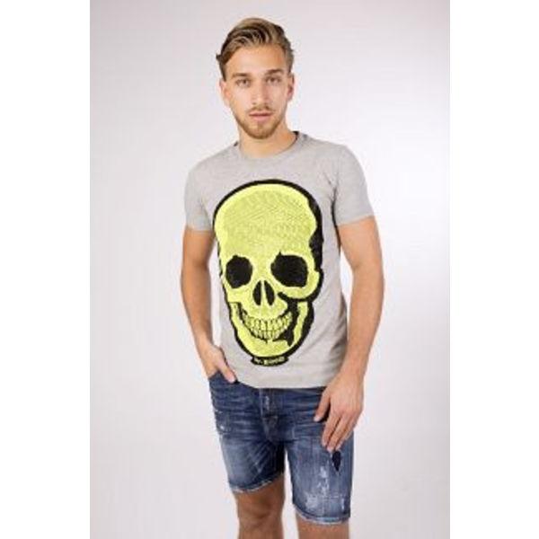 My Brand Neon Skull T-Shirt Greu
