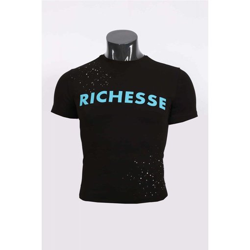 richesse Richesse T-Shirt Black/Blue