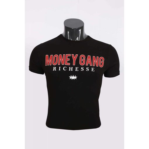 richesse Richesse Money Gang T-Shirt Black