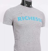 richesse Richesse T-Shirt Grey/Blue