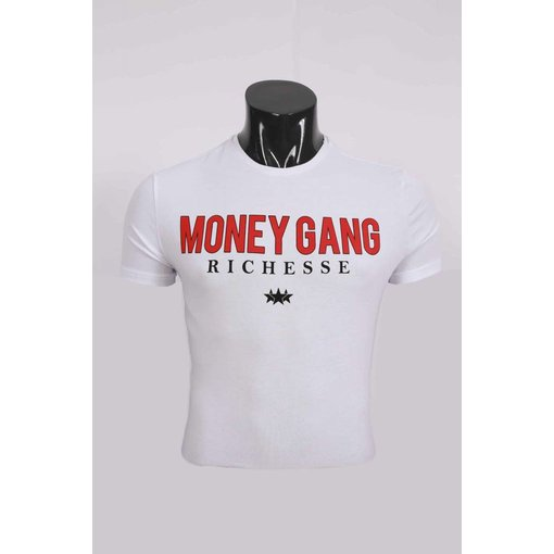 richesse Richesse Money Gang T-Shirt White