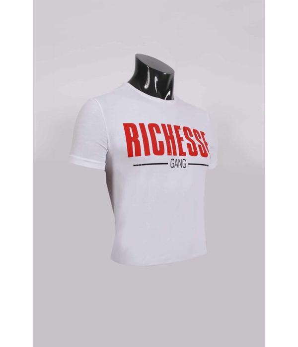 richesse Richesse Money Gang T-Shirt White