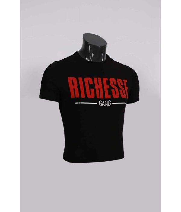 richesse Richesse Gang T-Shirt Black