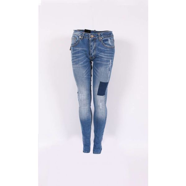 Richesse Skinny fit Jeans Light Blue H-2201