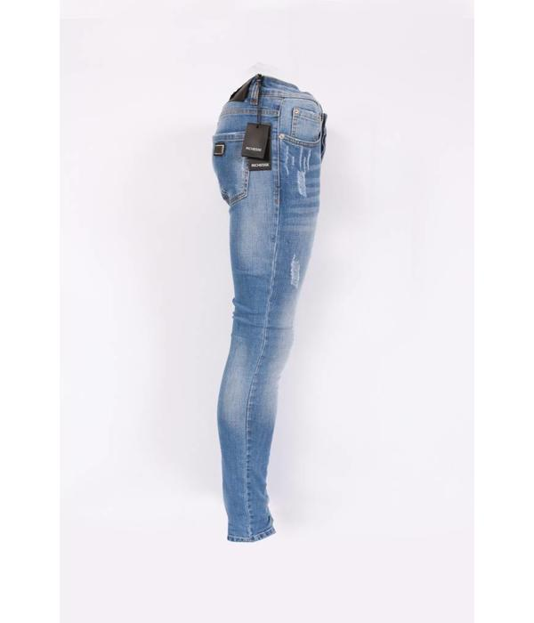 richesse Richesse Skinny fit Jeans Light Blue H-2201