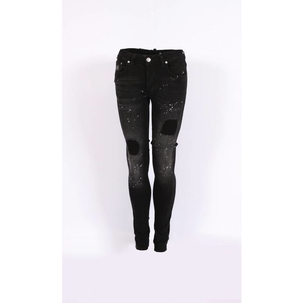Richesse Skinny Fit Jeans Black/grey H-2203