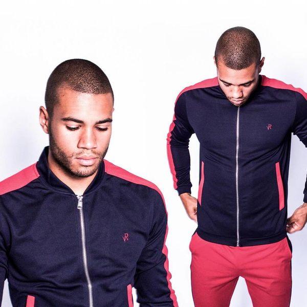Radical Track jacket Blue/Red
