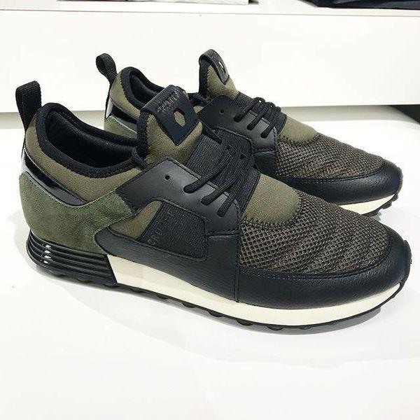 Cruyff Traxx Sneaker Olive Green