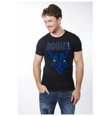 My Brand My Brand Icons Panther T-Shirt Black/Blue