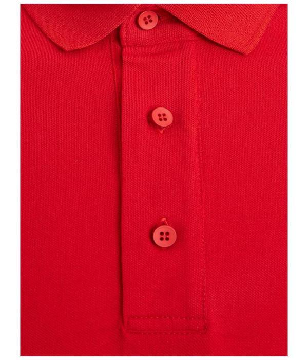 Purewhite PureWhite Ballin Polo Red