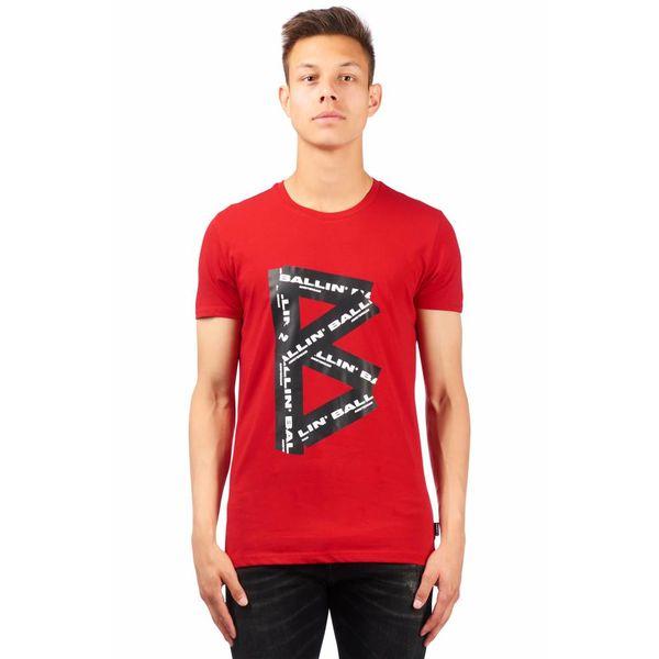 PureWhite Ballin T-Shirt 18029106 Red