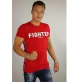 Purewhite PureWhite Ballin T-shirt Fighter Red