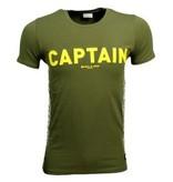 Purewhite PureWhite Ballin Dark Army Captain
