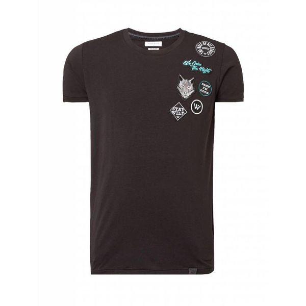 PureWhite T-Shirt Black