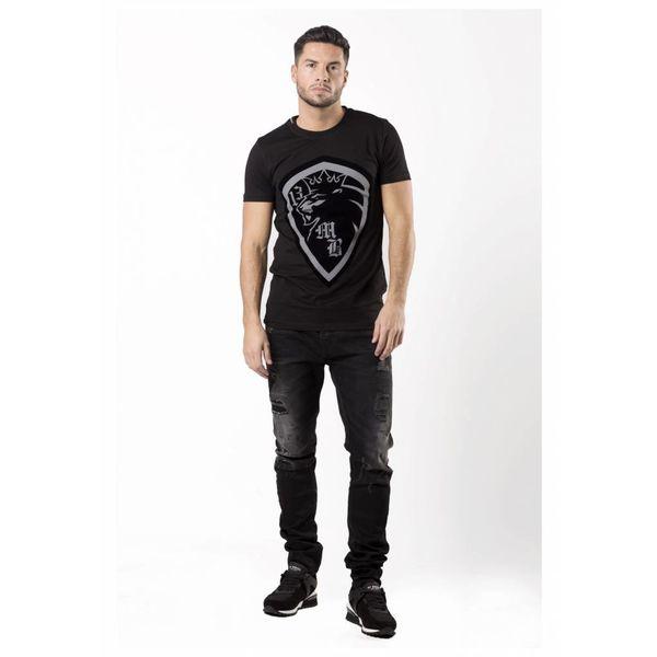 My Brand Lion13 Logo T-Shirt Black