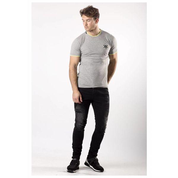 My Brand Snake Basic T-Shirt Grey