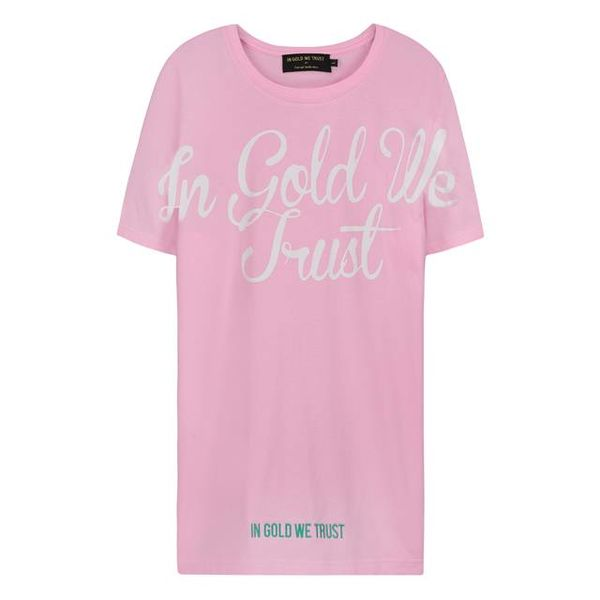 IGWT Baby Pink/White T-shirt