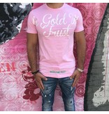 In Gold We Trust IGWT Baby Pink/White T-shirt