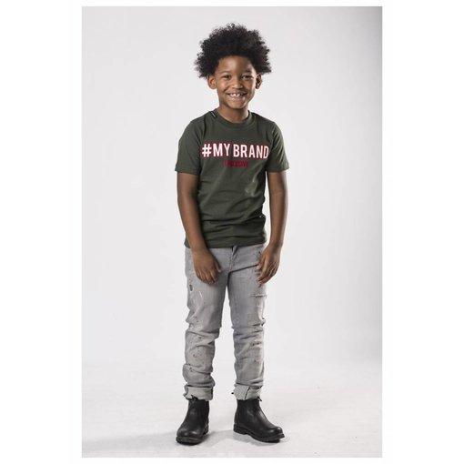 My Brand My Brand Kids T-Shirt Army