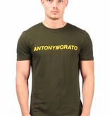 Antony Morato AM T-shirt Army yellow MMKS01408