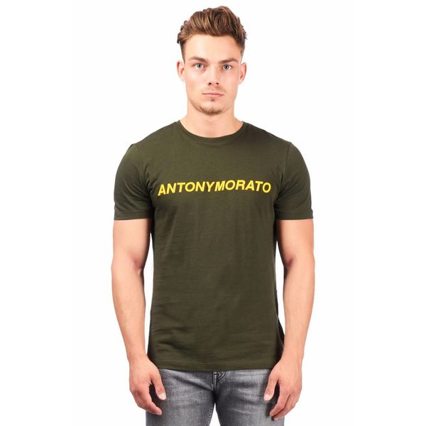 AM T-shirt Army yellow MMKS01408
