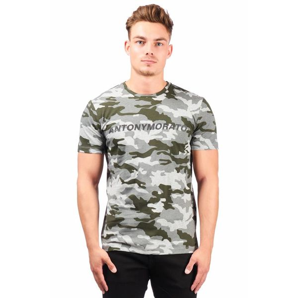 AM Camo Grey T-shirt