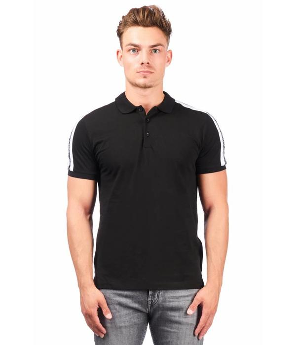 Antony Morato AM Polo Stripe MMKS01348 Black