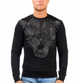 My Brand MB Trouble Tiger Sweater Gold