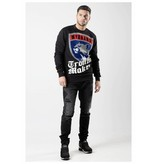 My Brand MB Panther Trouble Sweater Black